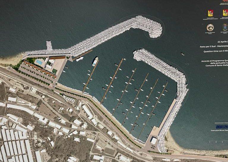 porto turistico santo stefano di camastra, progetto