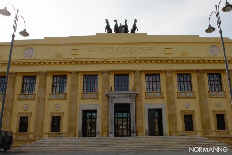 tribunale di messina, palazzo piacentini
