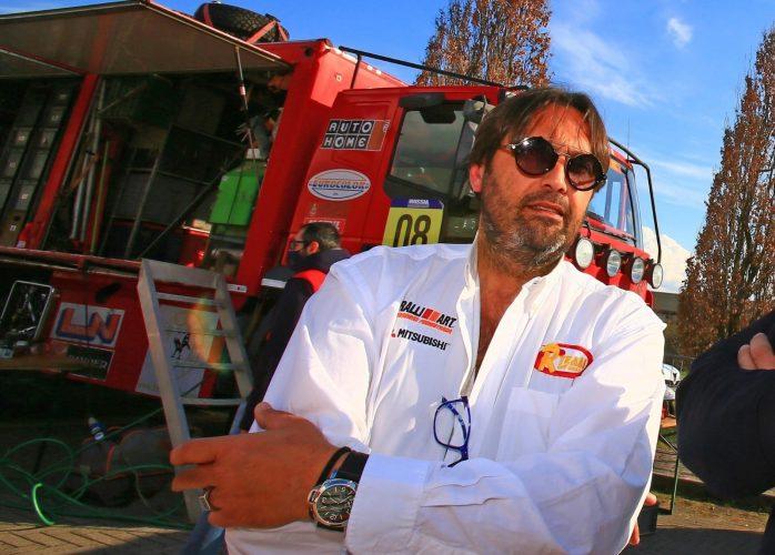 Antonio Ricciari, messinese alla Dakar Classic