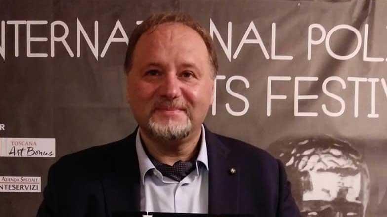 PremioApoxiomeno 2021 al professor Francesco Pira dell'università di messina