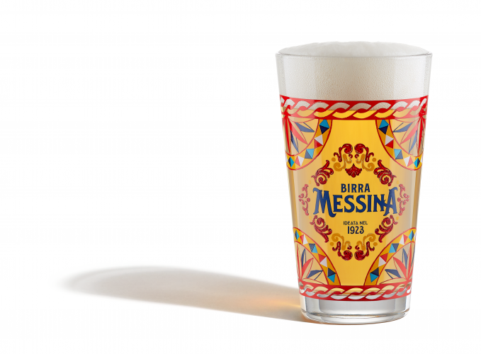 bicchieri regalo birra messina