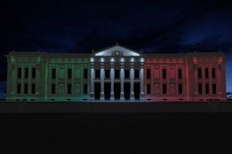 nuovo impianto di illuminazione palazzo zanca, messina