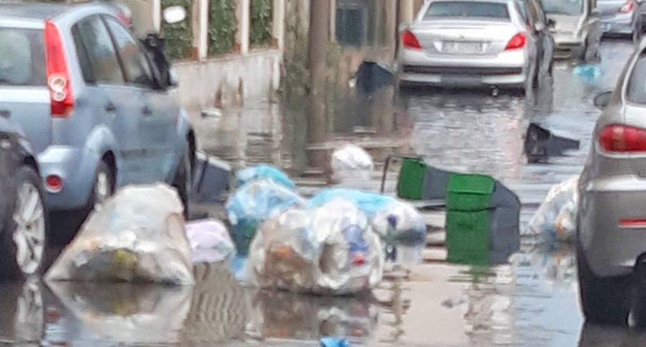 rifiuti e sporcizia a messina
