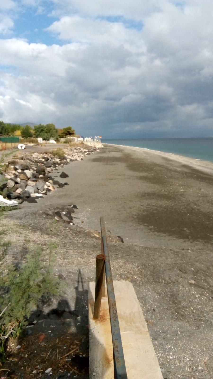 lavori contro l'erosione costiera a sant'alessio siculo