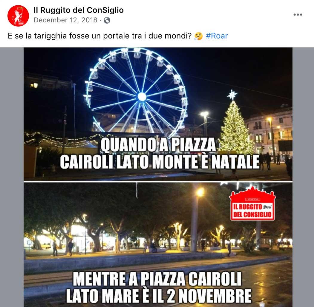 tarigghia piazza cairoli messina