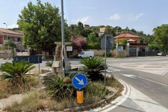 fontana di granatari, lavori di restauro a piazza dell'autonomia siciliana